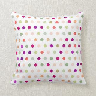 Polka Dots - Red & Green Cushion