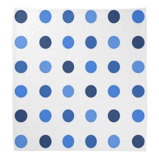 Polkadot Blue Bandannas