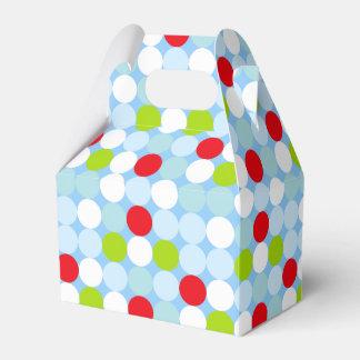 Polkadot Gable Favor Box Favour Boxes