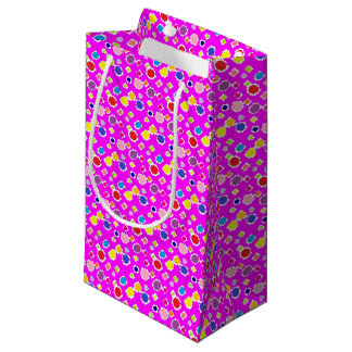 polkadots small gift bag