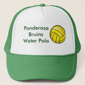 polo ball, Ponderosa Bruins Water Polo Trucker Hat