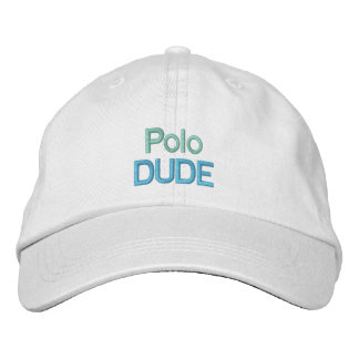 POLO DUDE cap Embroidered Hats
