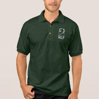 Polo shirt with KELP logo