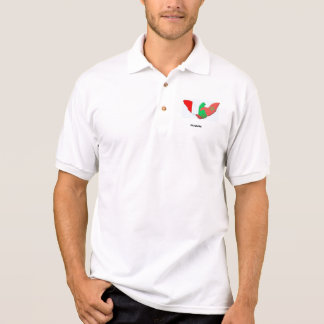 Polo Tshirt Proud to be half Italian half Moroccan