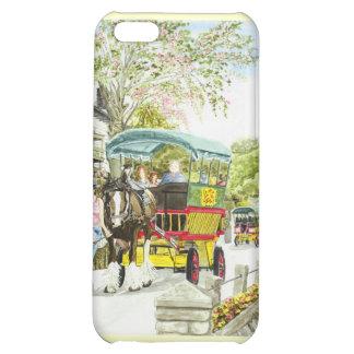 'Polperro Horse Bus' iPhone Case iPhone 5C Cases
