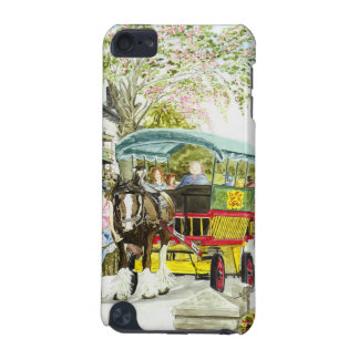 'Polperro Horse Bus' iPod Touch Case
