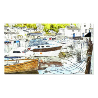 'Polperro Reflections' Business Card