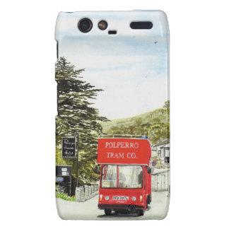 'Polperro Tram' Droid Case Motorola Droid RAZR Case