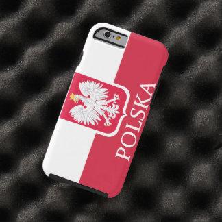 Polska White Eagle Flag Tough iPhone 6 Case