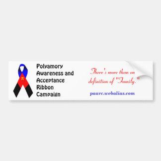 Polyamory Awareness Bumpersticker Bumper Sticker