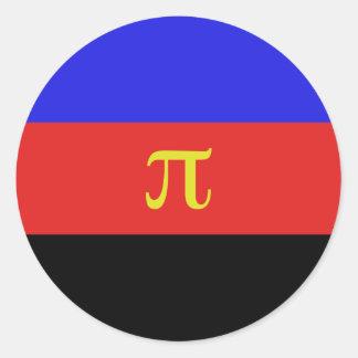 Polyamory Flag Classic Round Sticker