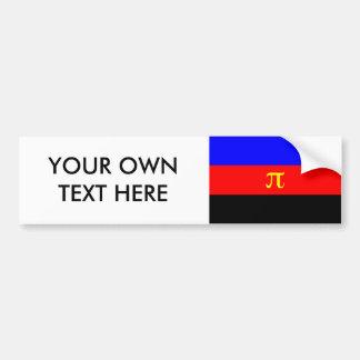 Polyamory Pride Flag Bumper Sticker