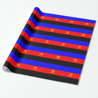 Polyamory Pride Flag Wrapping Paper