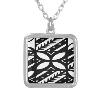polyArt.ai Silver Plated Necklace