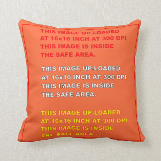 """Polyester Throw Template 16"""" x 16""""  35 Colors Plus Cushions"""