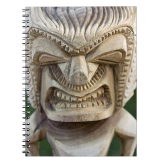Polynesia, Kingdom of Tonga. Close-up of tiki Notebooks
