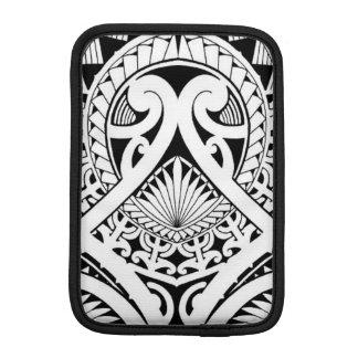 Polynesian / Maori tribal tattoo design iPad Mini Sleeve