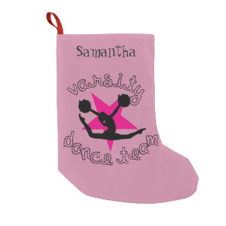 Pom Dancer Small Christmas Stocking