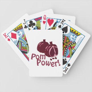 Pom Power! Poker Deck