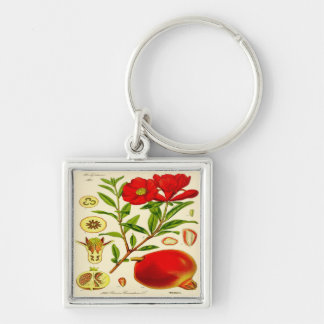 Pomegranate Key Ring