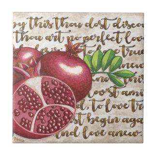 Pomegranate Love Once Again Tile