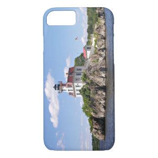 Pomham Rocks Lighthouse, Rhode Island iPhone 7 Case
