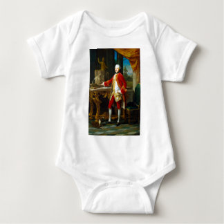 Pompeo Batoni Portrait of a Young Man Baby Bodysuit