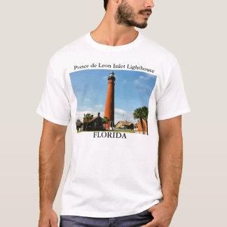 Ponce de Leon Inlet Lighthouse, Florida T-Shirt