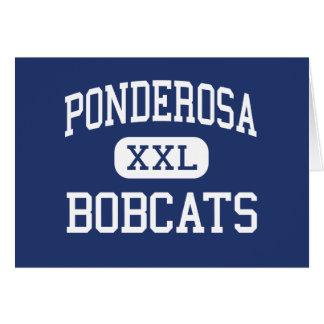 Ponderosa - Bobcats - Junior - Klamath Falls Card