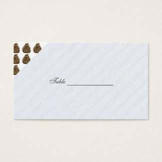 Ponderosa Pine Cone Business Card