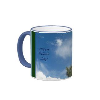 Ponderosa Pine in Clouds Fathers Day Mug