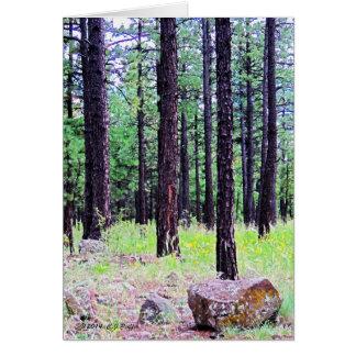 """""""Ponderosa Pines"""" Card"""