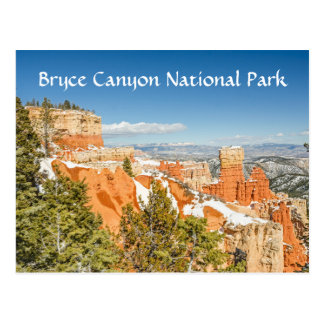 Ponderosa Point, Bryce Canyon National Park Postcard