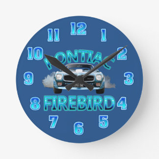 Pontiac Fire Bird Clock. Wallclocks