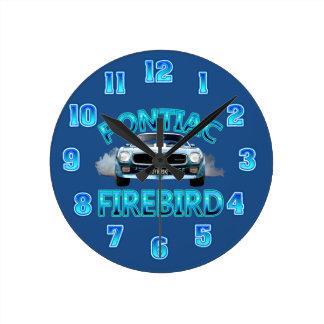 Pontiac Fire Bird Clock. Wallclocks