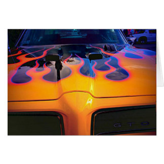 Pontiac GTO Greeting Card