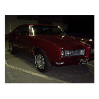 Pontiac GTO Postcard