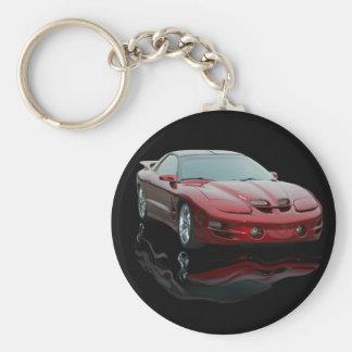 Pontiac Key Ring