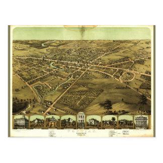 Pontiac Oakland County Michigan (1867) Postcard