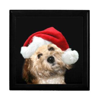 Poodle Christmas Gift Box