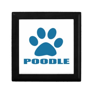 POODLE DOG DESIGNS GIFT BOX