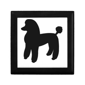 Poodle Dog Gift Box