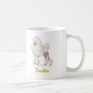 Poodle, Dog Lover Galore! Basic White Mug