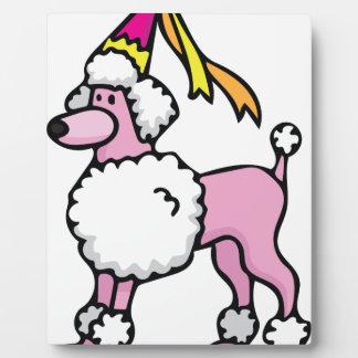 Poodle Princess Plaque