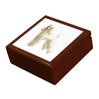 Poodle -- Puppy Clip Gift Box