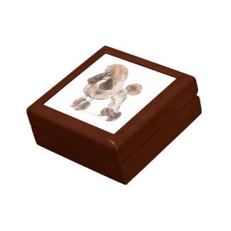 Poodle -- Show Coat Gift Box