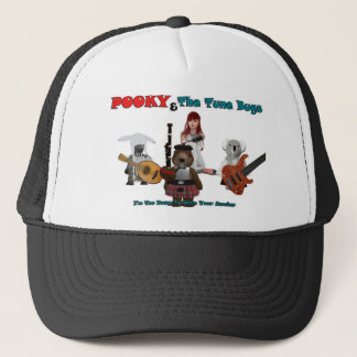 pooky and the tune bugs-1-1 trucker hat