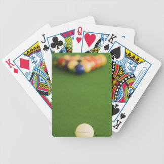 Pool Balls Bicycle Playing Cards