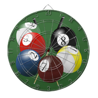 Pool / Billiards Dart Board