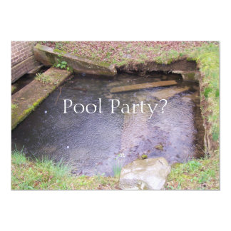 Pool Party? Card